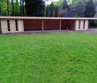 Tuinhuis Blokhut Modern xxl...