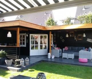 Letcas Hoek-tuinhuis met 2...