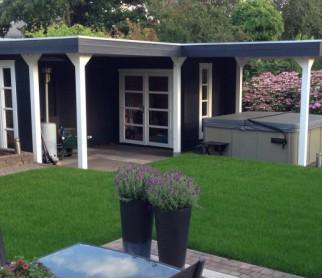 AlisA Hoek-tuinhuis met 2...